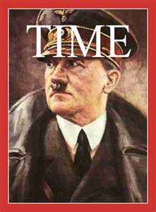 Hitler is named Time Magazine's Man of the Year in 1938