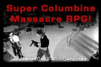 A playable video game of the Columbine Massacre