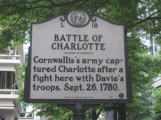 Battle of Charlotte sign